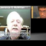 "Video thumbnail for youtube video Traders Unscripted: Options Legend Larry McMillan in ""Meet the Masters"" Series PT.1 